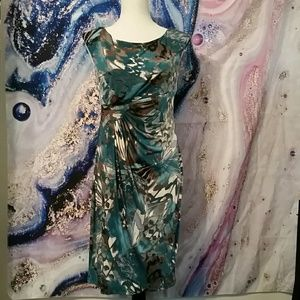 Abstract Butterfly Dress